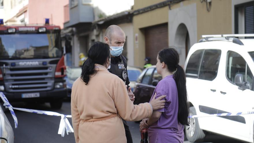 El hombre herido en un incendio en La Soledat sufre graves quemaduras en la cara