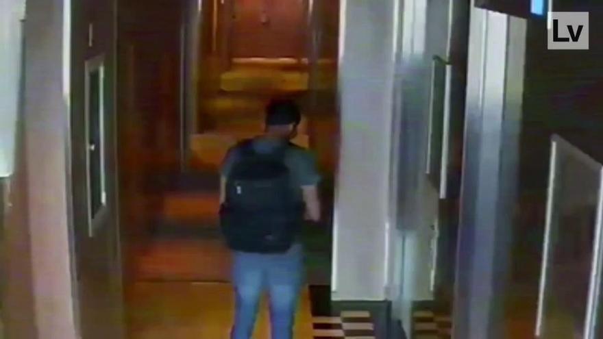 Así desvalijaron la habitación de Daddy Yankee en València