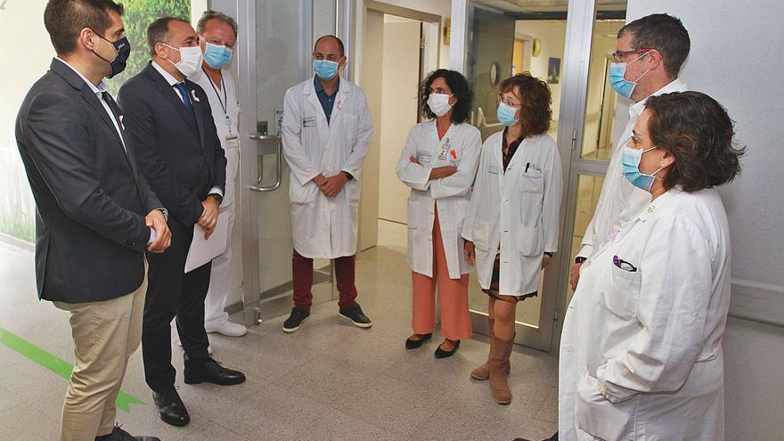 El hospital de Ourense dispondrá de mejor tecnología contra el cáncer y una nueva UCI