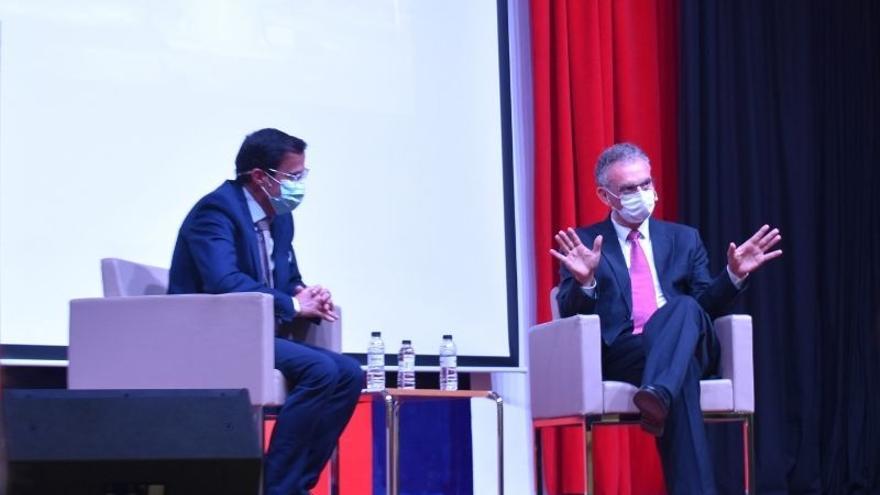 Quintana y Gallardo se reunirán con Sánchez para abordar el proyecto de fusión de Don Benito y Villanueva