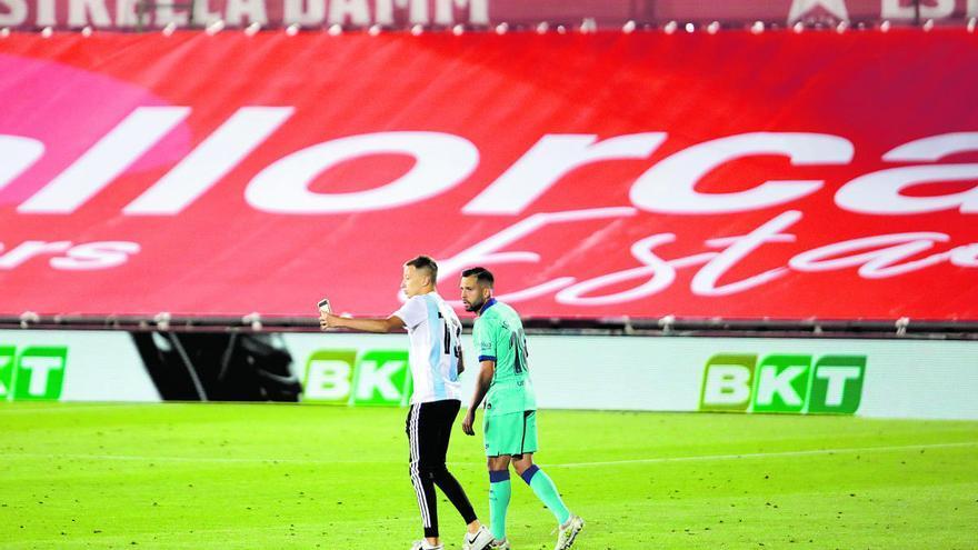 Antiviolencia propone una sanción de 4.000 euros para el espontáneo del Mallorca-Barça
