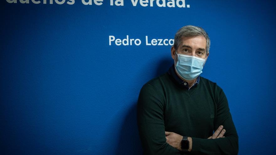 """Fernando Clavijo: """"El Gobierno canario es sumiso y cobarde ante el abandono de Madrid"""""""