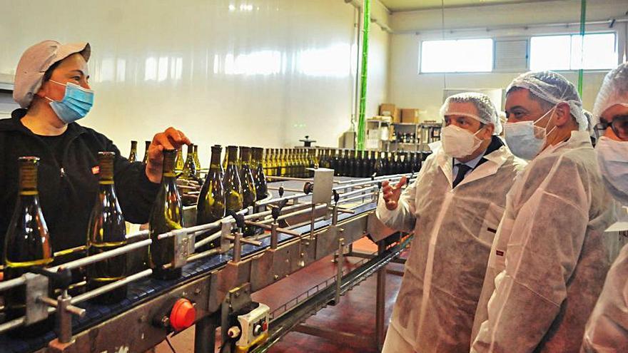 El Gobierno pulsa la actualidad del sector agroalimentario gallego en Martín Códax