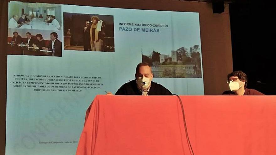 Informe sobre el pazo de Meirás, en la revista 'Areal'