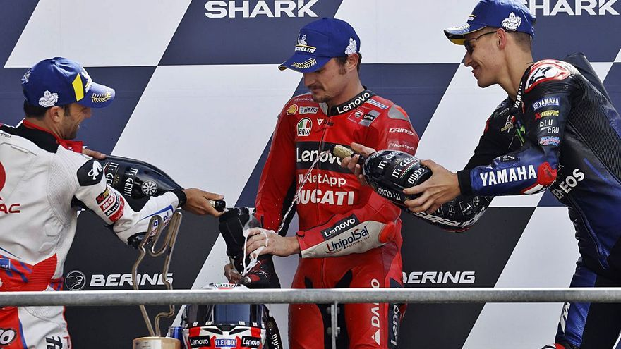 Jack Miller guanya la seva segona cursa consecutiva i Viñales només pot ser desè