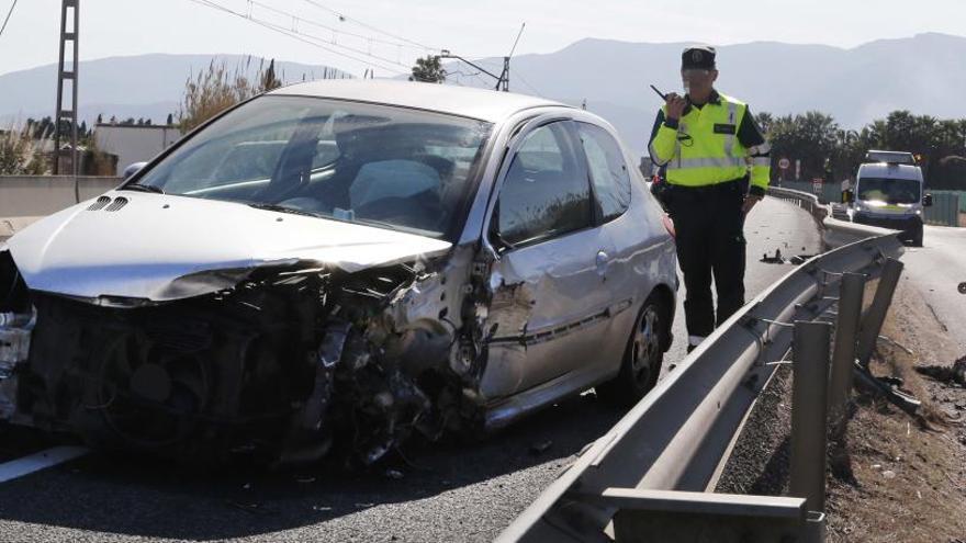 Accidente de tráfico en Cullera.