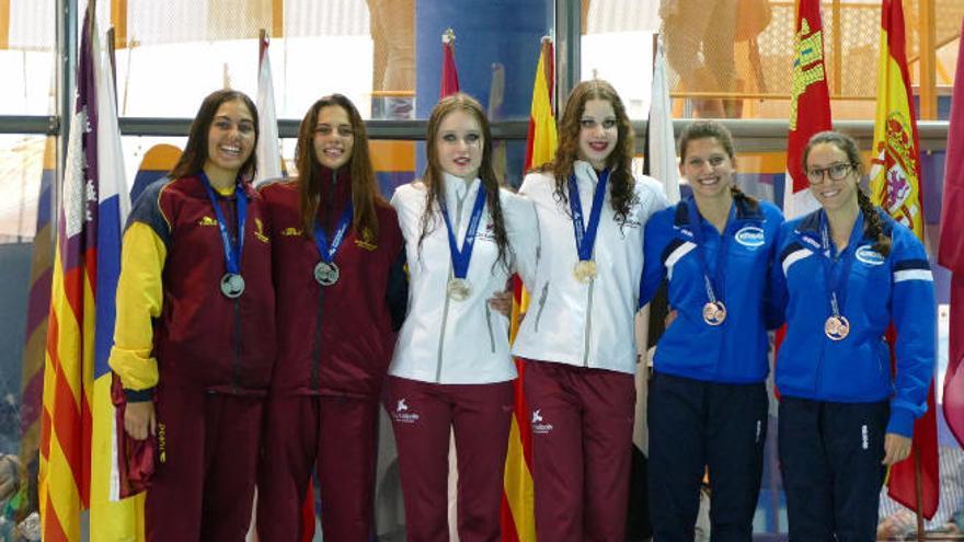 Dos medallas de plata  y una de bronce para el Metropole en el Nacional