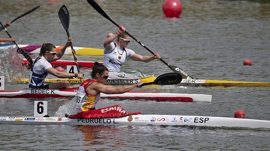 Carlos Garrote y Laura Pedruelo disputan hoy las finales del Campeonato de Europa de Esprint