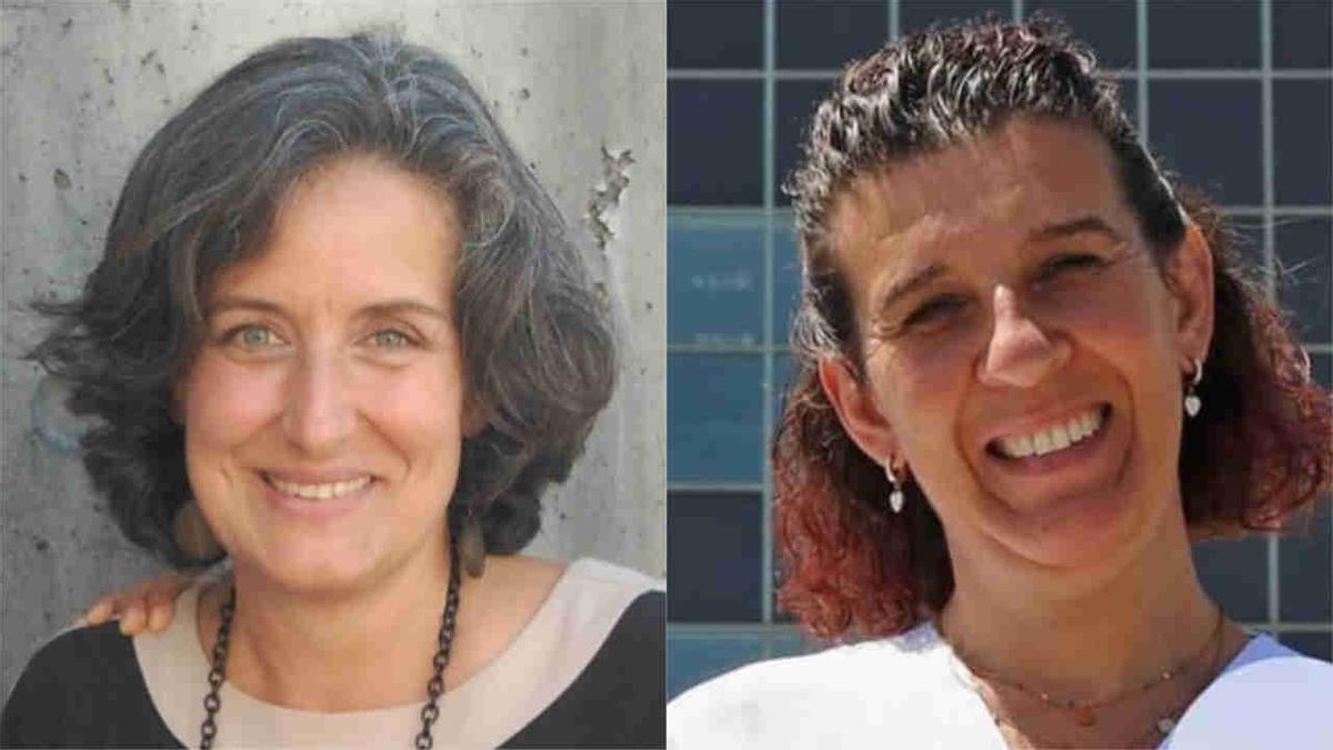 María Gayoso Couce y Ana Romero Cardalda.