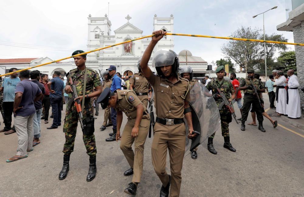 Las imágenes de los atentados de Sri Lanka
