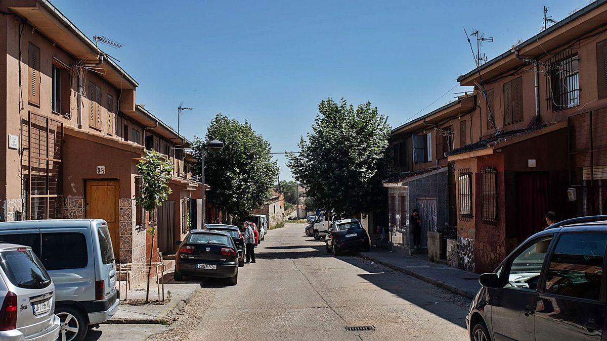 Barrio de Rabiche, en Zamora capital