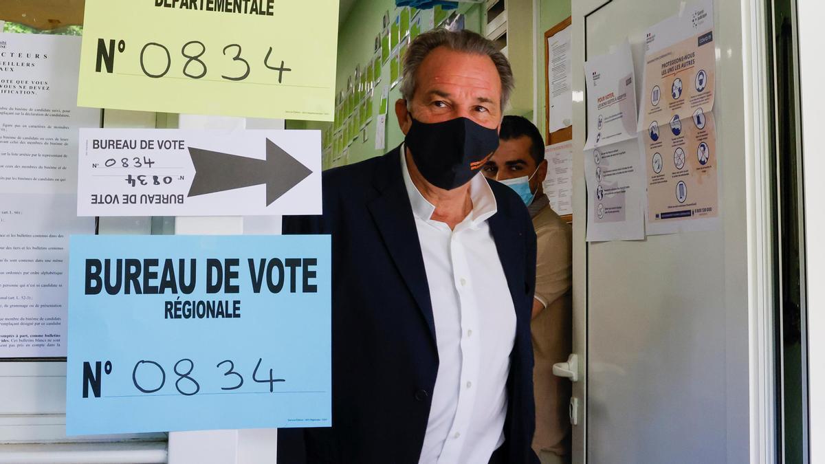 El conservador Renaud Muselier se impuso a Agrupación Nacional en Provenza-Alpes-Costa Azul.