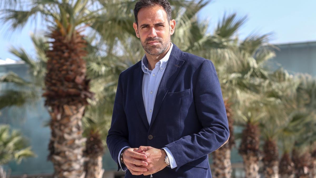 Javier Frutos, nuevo presidente de la Federación Andaluza de Hostelería.