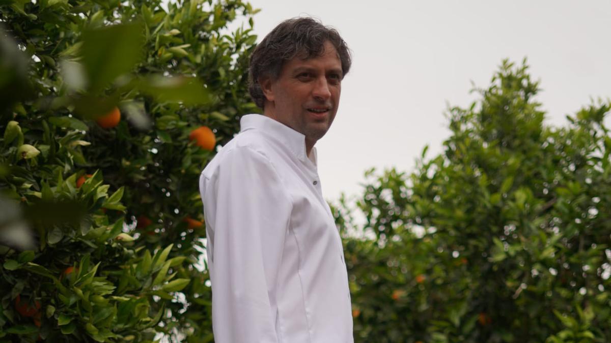 El maestro arrocero Vicente Rioja.