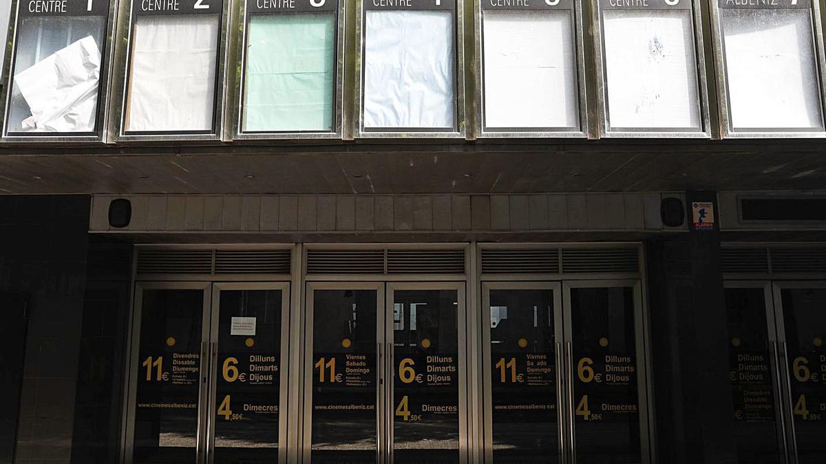 Els Albèniz Centre de Girona, tancats des de l'octubre del 2020