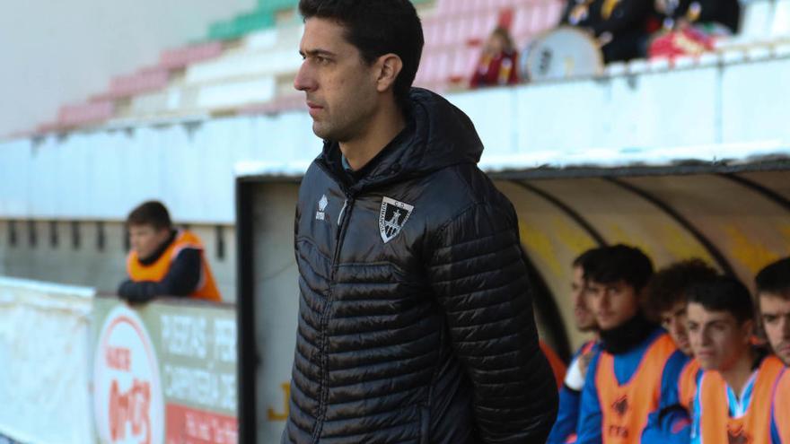 Sergio García sale al rescate del Zamora CF ante el Numancia B