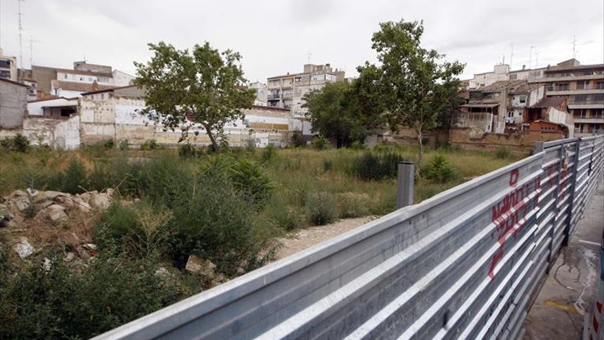 Presentada la solicitud para urbanizar La Merced de Huesca