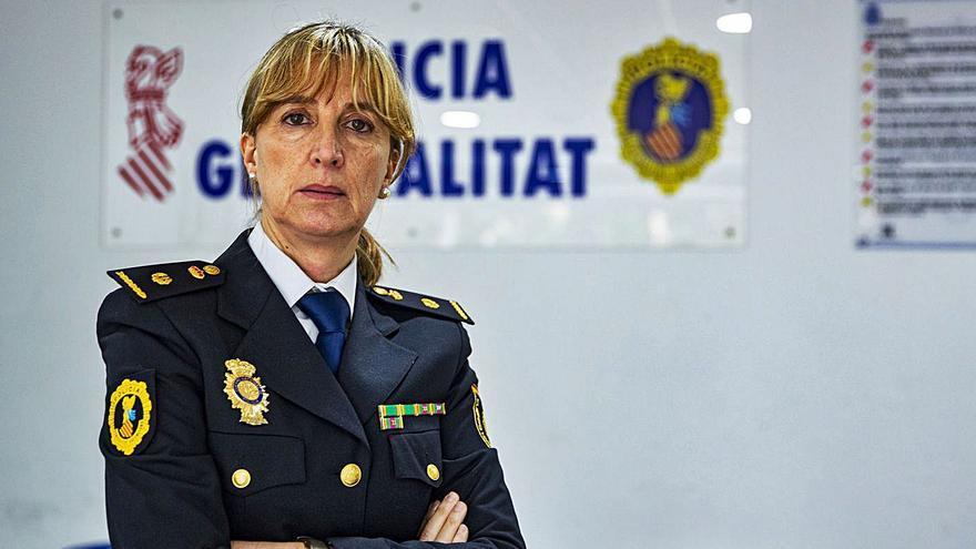 Una inspectora jefa con amplia experiencia, al frente en Alicante de la Policía Autonómica