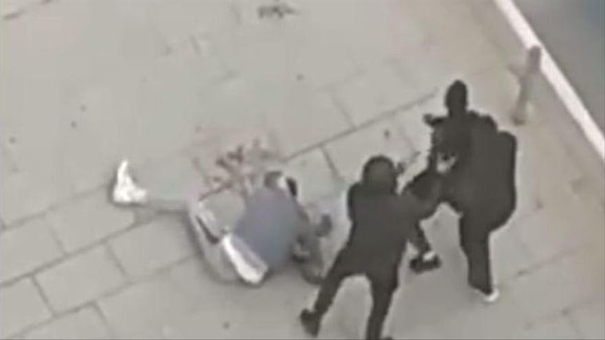 Brutal agresión con armas en pleno centro de Castelló