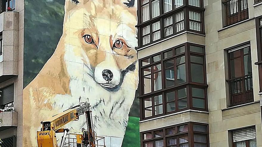 """Pintar para que los edificios """"sean mucho más que un montón de ladrillos"""""""