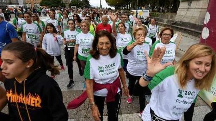 La carrera más larga llega a Pontevedra