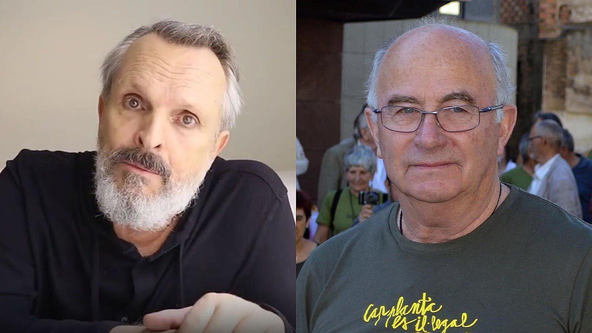 Miguel Bosé y Josep Pàmies.