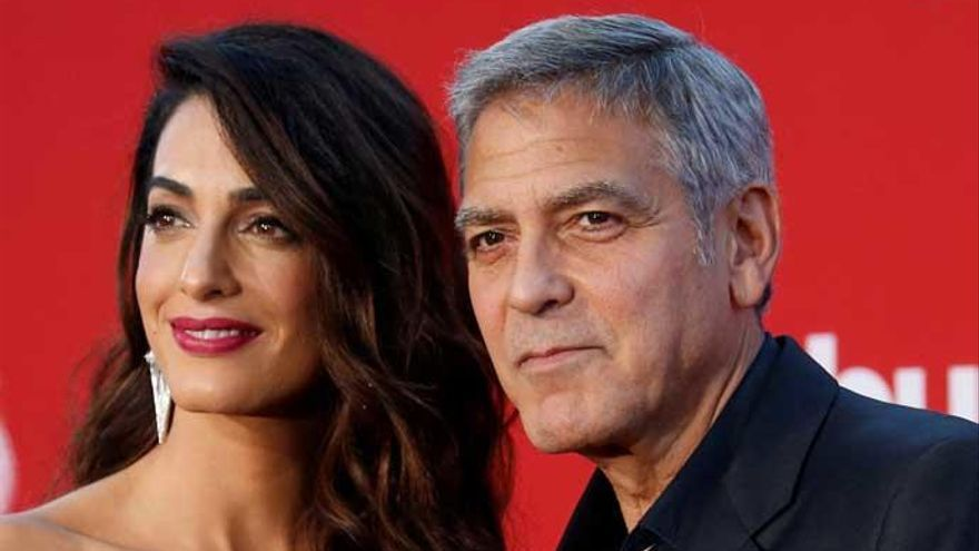 George y Amal Clooney donan 500.000 dólares para el control de las armas