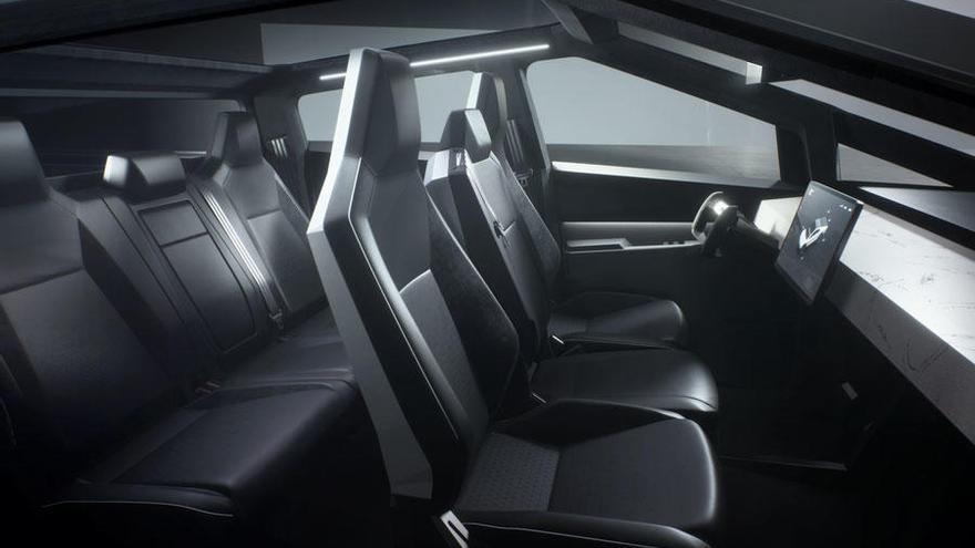 Tesla Cybertruck, una camioneta 100% eléctrica con diseño futurista