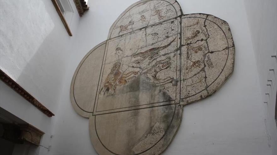 La Junta autoriza una intervención en Fuente Álamo para devolver el mosaico nilótico a su lugar original