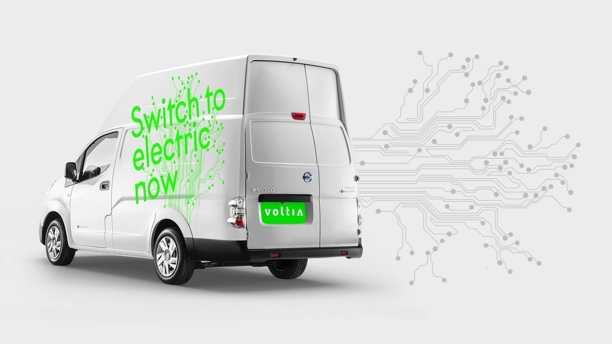 Nissan presenta la e-NV200 XL Voltia, una versión con un 90% más de capacidad de carga