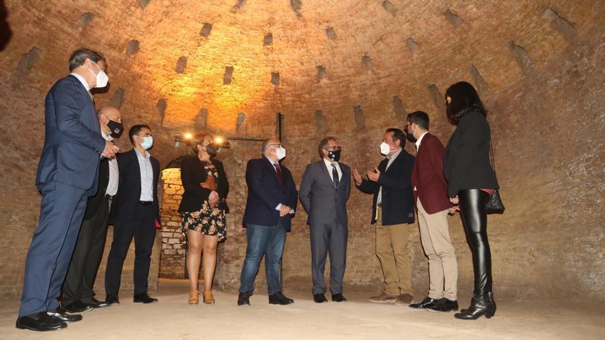 Martí eleva a la Real Fábrica como el cimiento del Castellón del siglo XXI