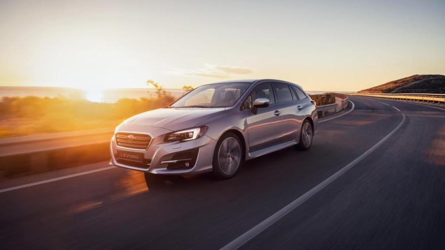 Nuevo Subaru Levorg 2019, disponible también en versión ECO bi-fuel