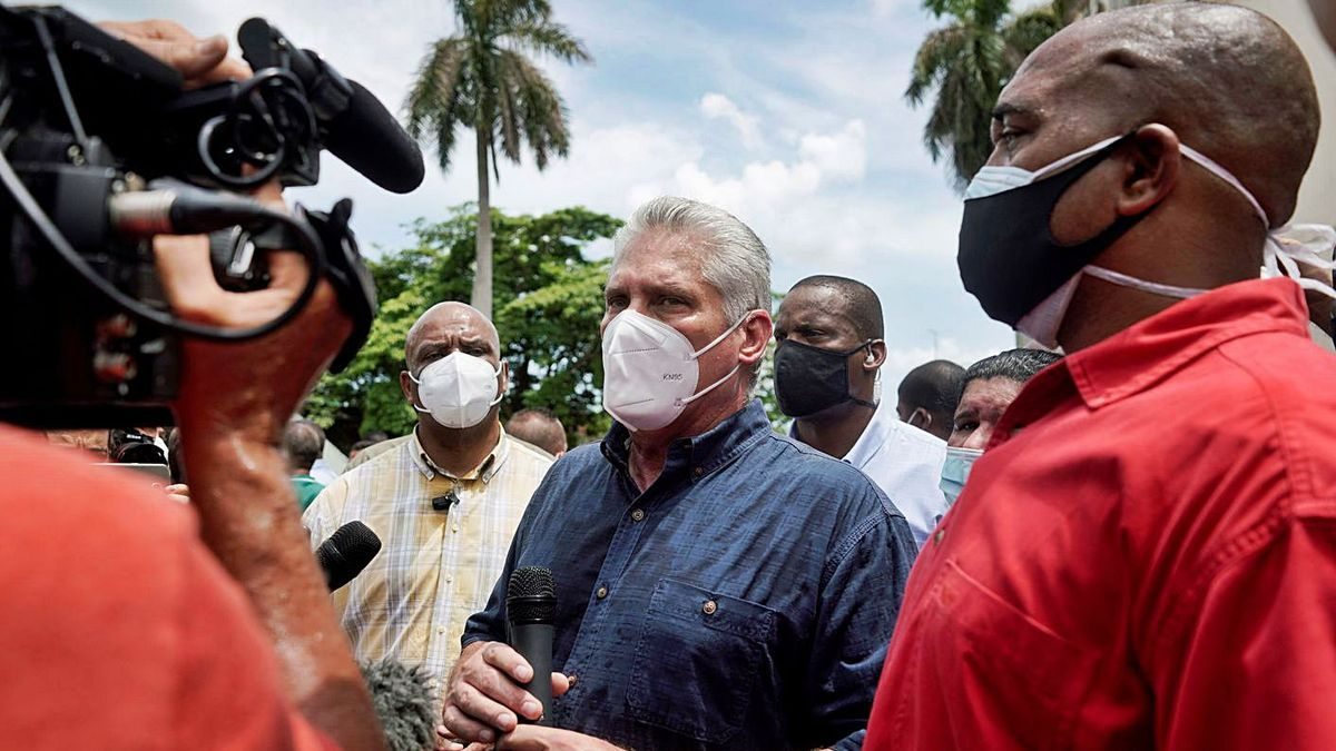 El president de Cuba, Miguel Díaz-Canel   REUTERS