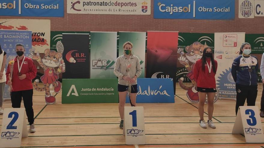 Manuela Díaz logra un doblete de oro en el campeonato andaluz