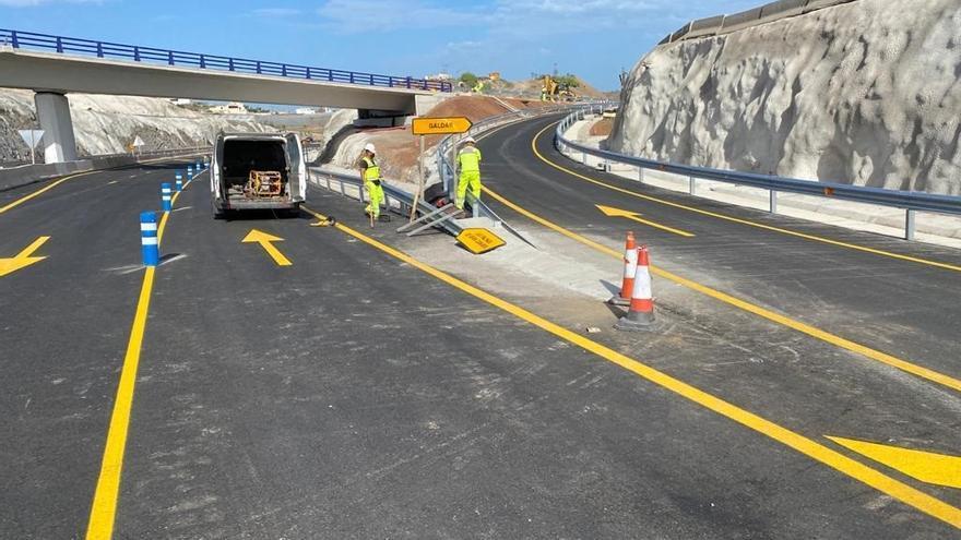 El tramo Arucas-Costa de la Circunvalación de Las Palmas de Gran Canaria entra en servicio este martes