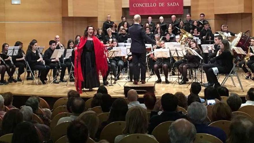 Zarzuela para celebrar Santa Cecilia en Sada
