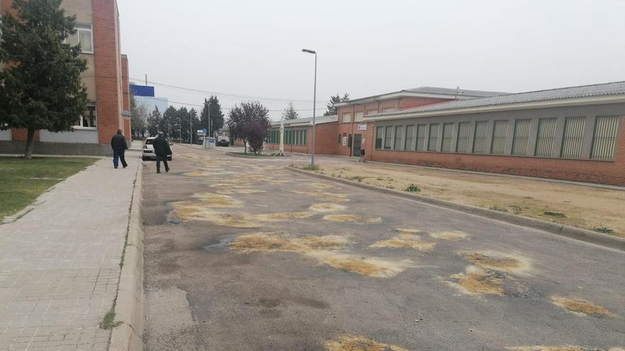 Una inversión de 130.000 euros para urbanizar el Colegio del Tránsito en Zamora
