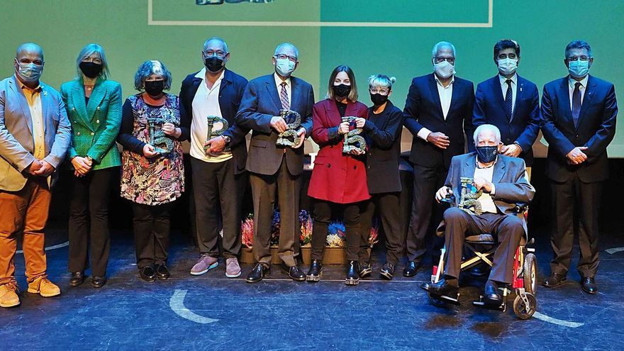 La Incorrecta rep el Premi Banyolí de l'Any