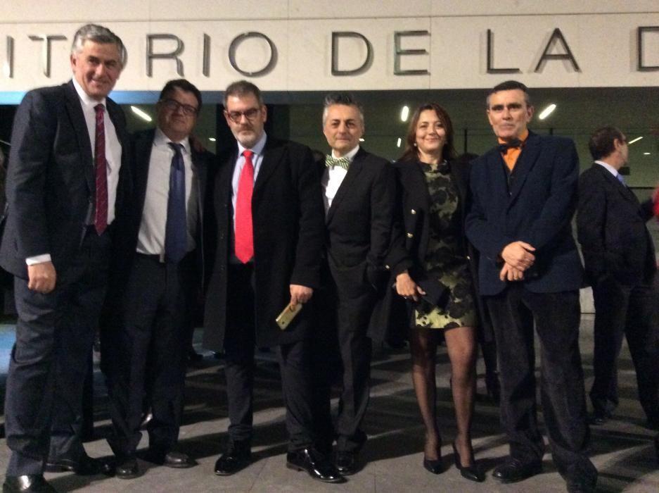 Santiago Lumbreras, Toni Cabot, Jorge Fauró , Javier Izquierdo, Isabel Vicente y Mario Candela