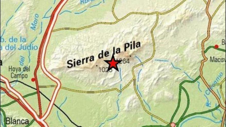 Un terremoto de madrugada hace temblar a vecinos de Molina, Archena y Fortuna