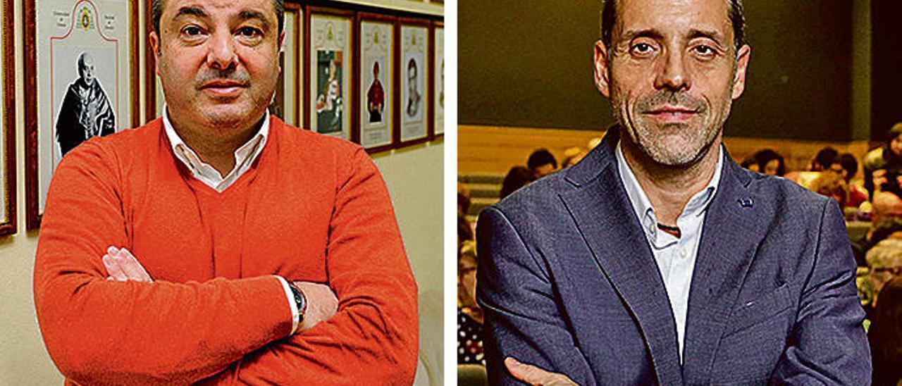 Roca y Teruelo se enfrentan para dirigir Derecho en una tensa campaña electoral