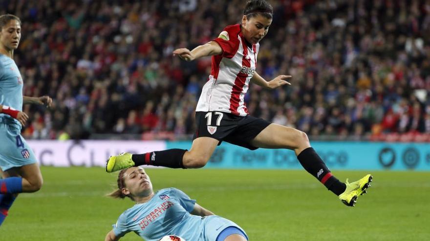 La asturiana Lucía García, en el Mundial