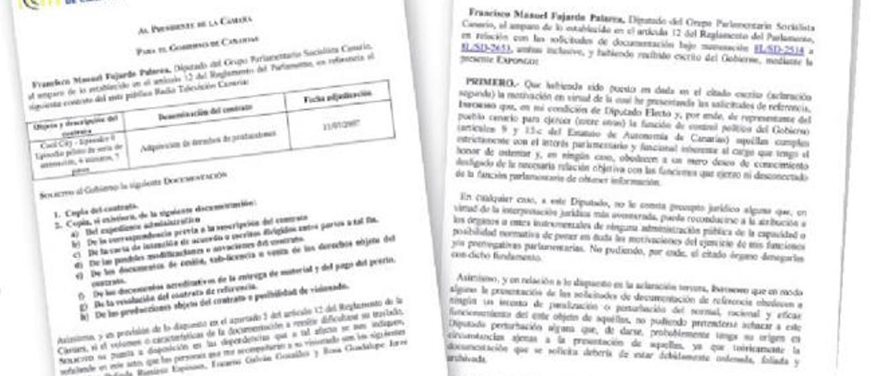 El Gobierno niega al PSOE copia de los contratos de TVC por falta de personal
