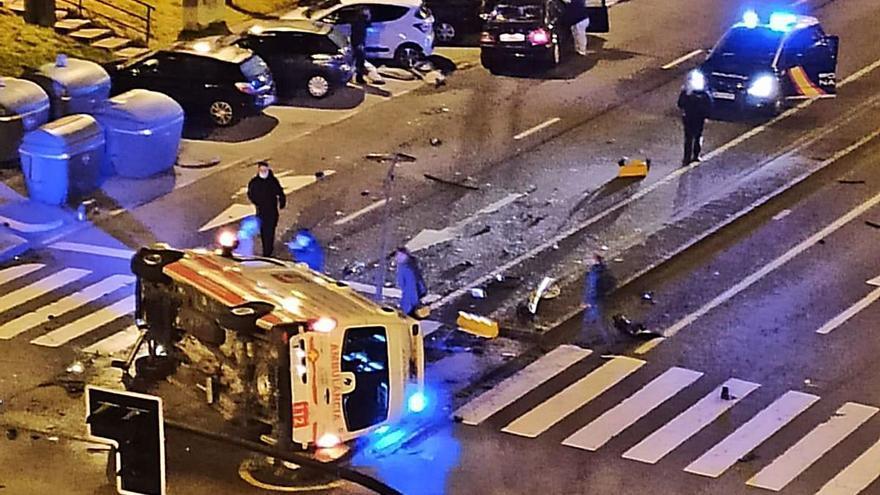 Exonerada la conductora que chocó contra la ambulancia en la que murió un técnico