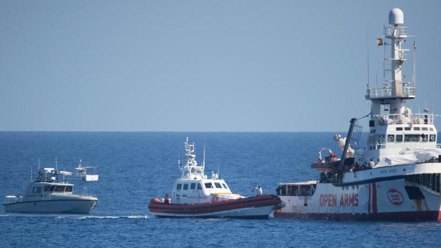 La Guàrdia Costanera italiana immobilitza l'Open Arms per anomalies greus
