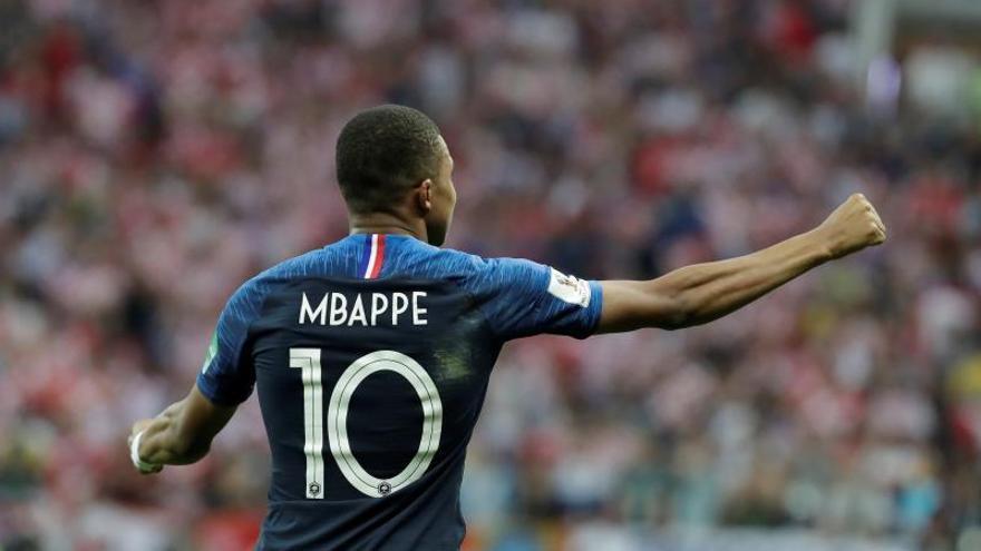 Mbappé es la mejor promesa del campeonato