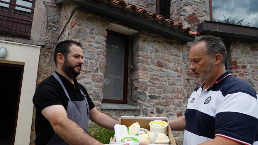 El exclusivo hojaldre con natas de Gunea brota en La Fontona