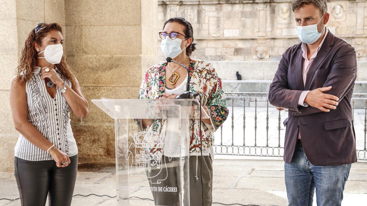 Presentación de la reactivación de Cáceres, Ciudad de Congresos.
