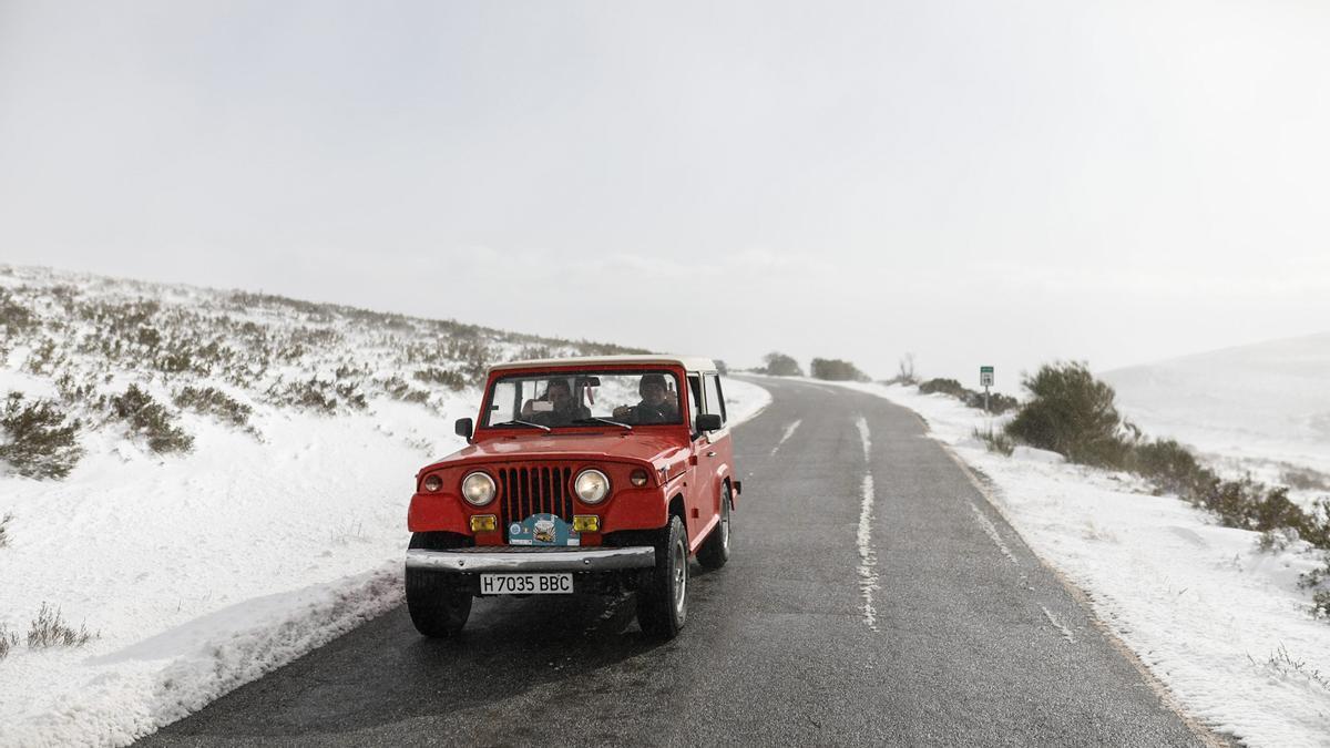 GALERÍA | La nieve deja un paisaje de ensueño en Sanabria