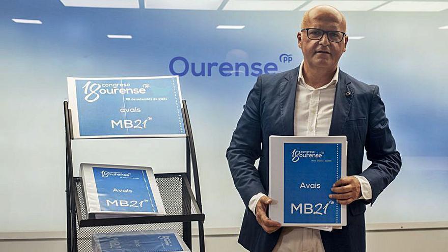 Manuel Baltar, otra vez sin rival para seguir como presidente del PP de Ourense